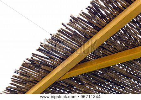 Detail Thatched Roof