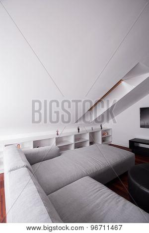 Comfortable Sofa In Attic