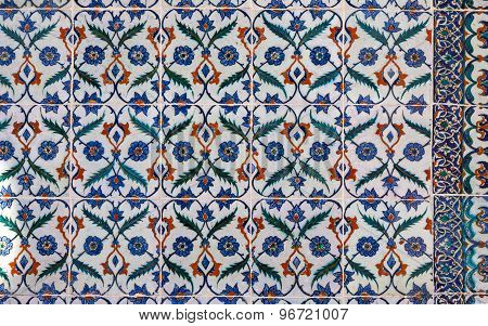 Turkish ceramic tiles