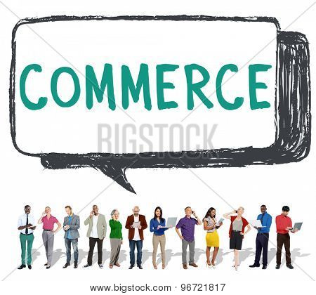 Commerce Shopping Market Buying Concept