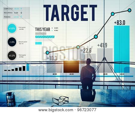 Target Goal Aspiration Aim Vision Success Concept