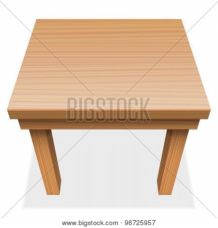 Wooden Table Perspective