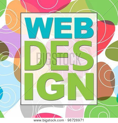 Web Design Colorful Background
