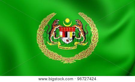 Royal Standard Of The Raja Permaisuri Agong, Malaysia.