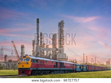 Industrial Plant Power Station And Train