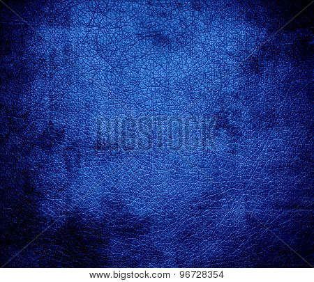 Grunge background of denim leather texture