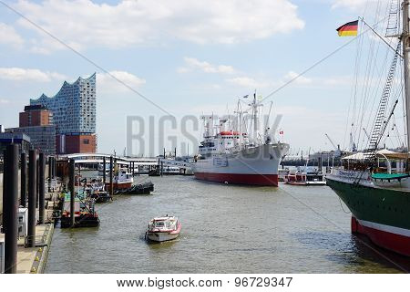 Port Of Hamburg Germany