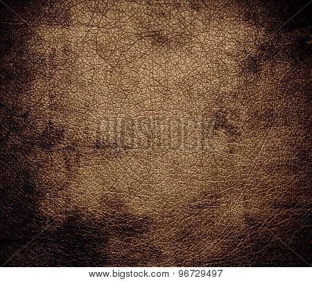 Grunge background of dirt leather texture
