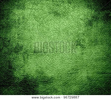 Grunge background of dollar bill leather texture