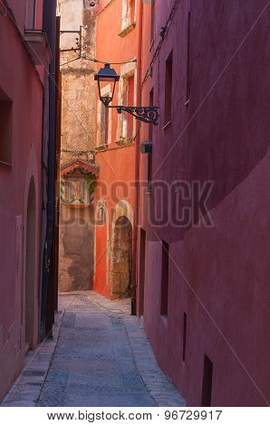 Old street view, Italy.