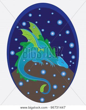 The sleeping water dragon.