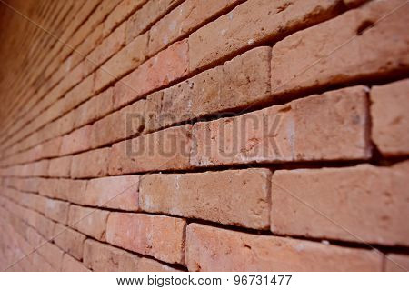 Background view of old brick wall