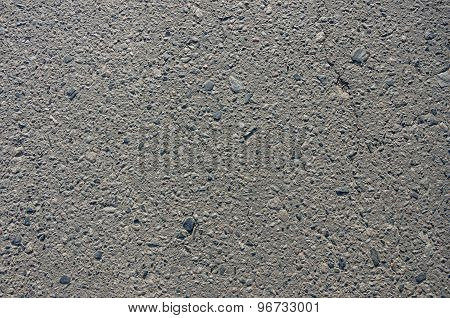 The Smooth Texture Of The Gray Asphalt