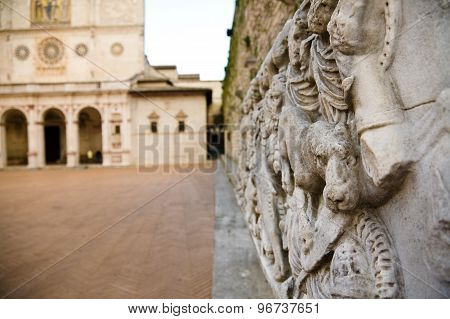 Cathedral Square, Spoleto, Umbria
