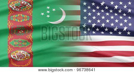 USA and Turkmenistan.
