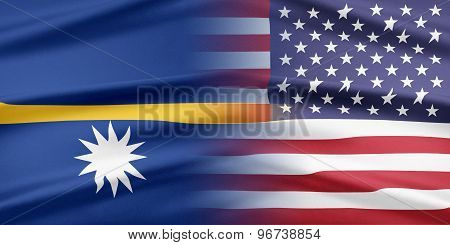 USA and Nauru.