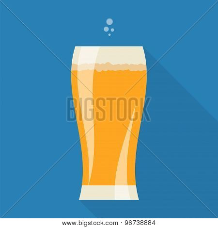 Beer Glass Icon.