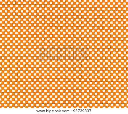 Orange Rubber Mesh