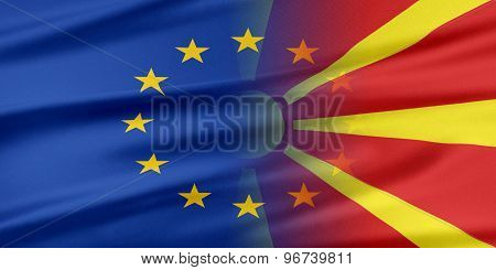 European Union and Macedonia.