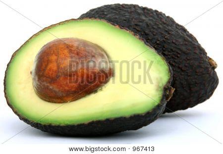 tropisch frische, gesunde Avocado Früchte