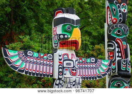 The Totem Poles