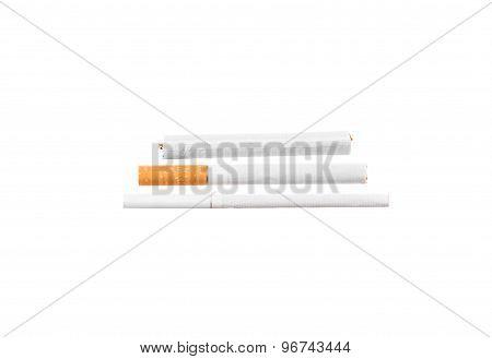 Various cigarettes.