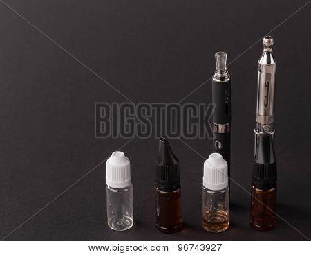 Big advanced electronic cigarette.