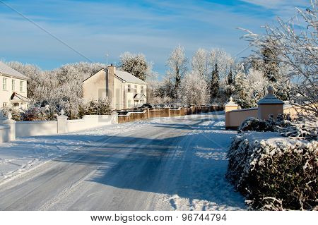 Winter Day In The Village