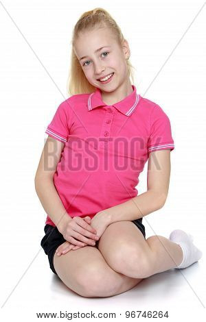 Girl sitting on your lap