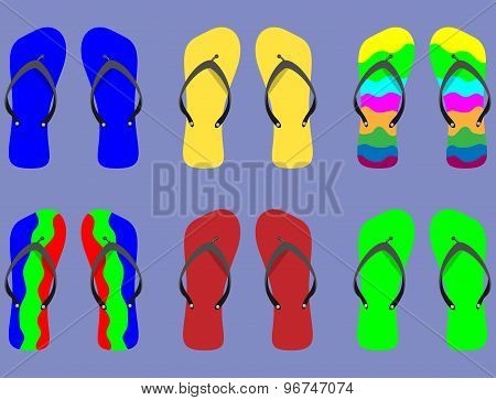 Set Flip Flops With Different Patterns