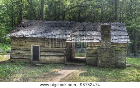 Ephraim Bales Log Cabin, Great Smoky Mountains National Park