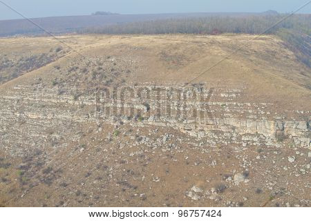 Beautiful hill landscape