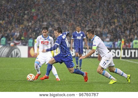 Uefa Europa League Semifinal Game Dnipro Vs Napoli