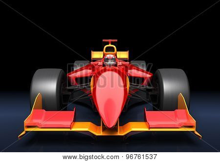 Generic Red Race Car