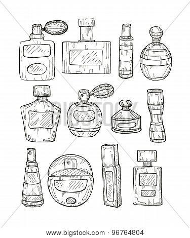 Hand Drawn Perfumes