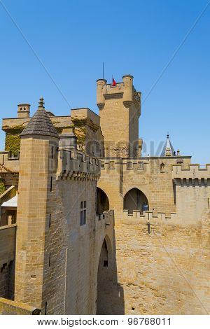 Details Of The Castle Of Olite