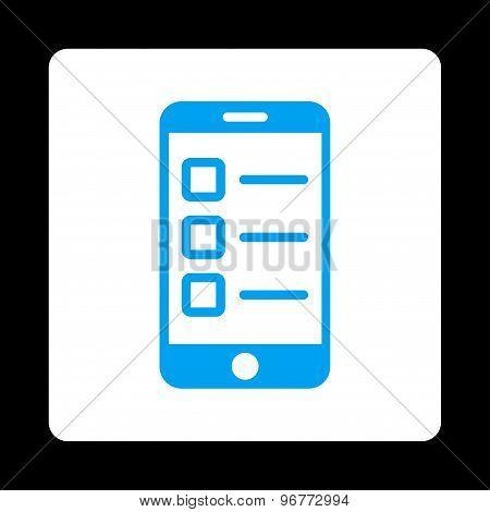 Mobile test icon