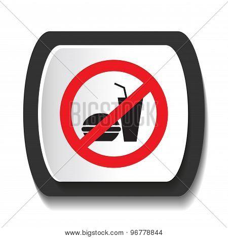 Icon ban food