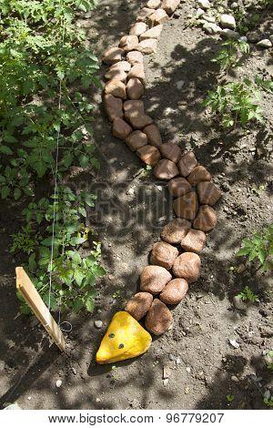 Snake Of Stones