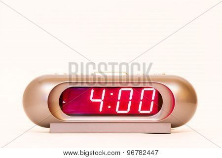 Digital Watch 4:00