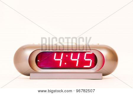 Digital Watch 4:45