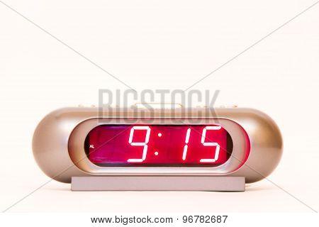 Digital Watch 9:15