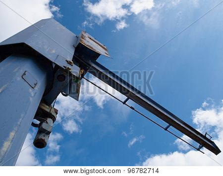 Industrial Crane Operating