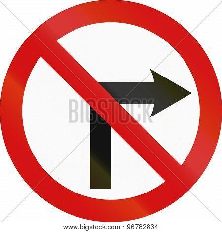 No Right Turn In Ireland