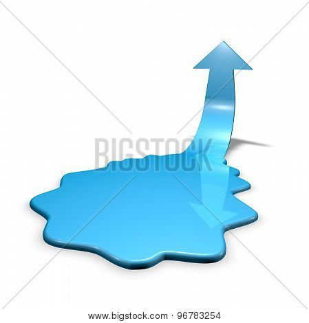 Recession And Economic Depression Abstract Concept Illustration Isolated