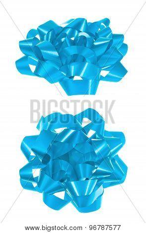 Decorational bow isolated