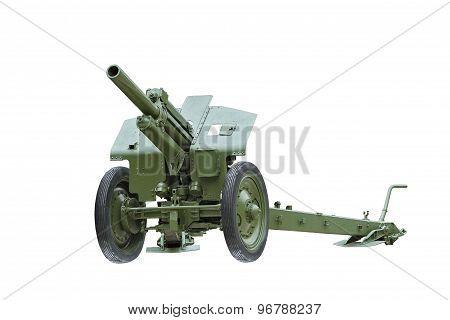 Artillery Gun. The Howitzer.