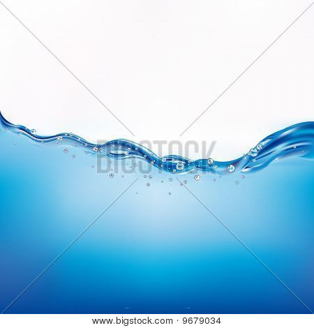 Beautiful Water Wave