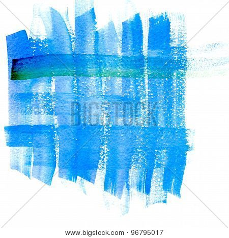 abstraction blue