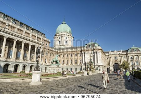 Royal Palace Of Buda, Budapest, Hungary